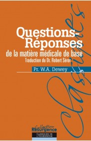 Questions-réponses de la matière médicale de base
