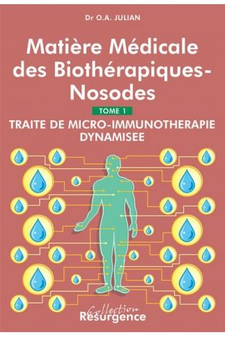 Matière médicale des biothérapiques-nosodes