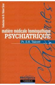 Matière médicale homéopathique psychiatrique
