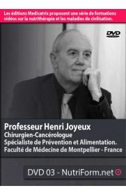 Cancers du sein et de la prostate - Pr Henri Joyeux