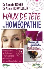 Maux de tête et homeopathie