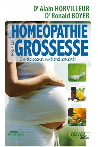 L'homeopathie pour ma grossesse