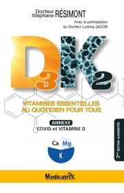 Vitamines D3K2 : vitamines essentielles au quotidien pour tous