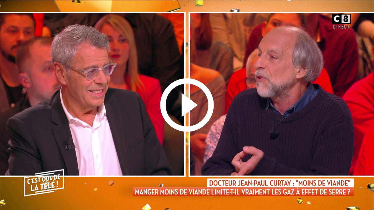 Le replay de l'émission de Lundi 18 Février 2019 sur C'est que de la Télé (Mycanal, C8) Le lundi sans viande : bonne idée ou coup marketing ?